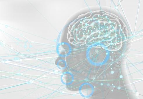 脳の中がクリーニングされている図